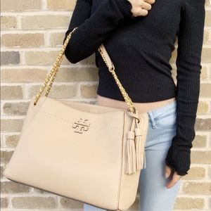 Tory Burch McGraw slouchy tote